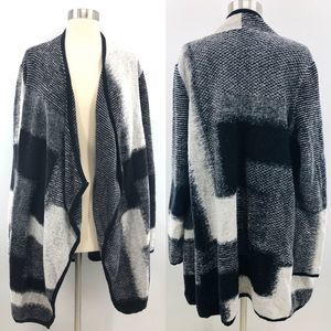 Lucky Brand Thick Open Front Cardigan Sweater XL